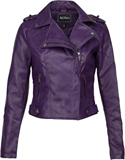 innovative design select for authentic limited price Amazon.com: Purples - Leather & Faux Leather / Coats ...