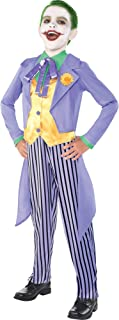 Batman Classic Joker Costume for Boys, Includes a Jacket with Tails and Striped Pants