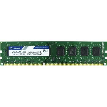 PARTS-QUICK BRAND 4GB Memory Upgrade for Biostar TA890GXB HD Motherboard DDR3 PC3-10600 NON-ECC DIMM RAM