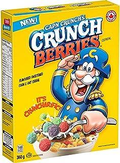 Quaker Captain Crunch Cap'n Crunch Berries Cereal, 360 g