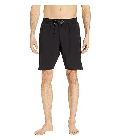 Nike 9 Retro Stripe Lap Volley Shorts (Black) Men