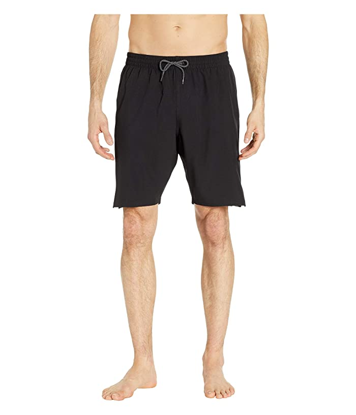 Nike 9 Retro Stripe Lap Volley Shorts (Black) Men