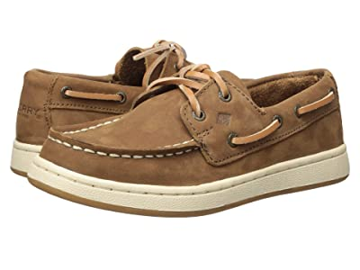 Sperry Kids Cup II Boat (Little Kid/Big Kid) (Brown) Boys Shoes