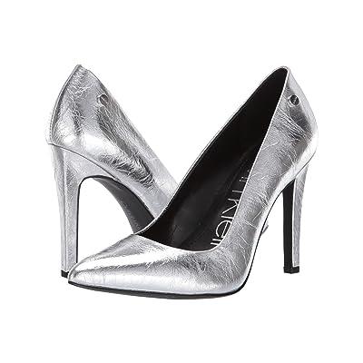 Calvin Klein Brady (Silver Thrill Metallic) High Heels