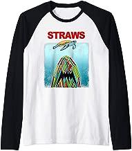 Save The Sea Turtles Conservation Gift Shirt Anti Straws Raglan Baseball Tee
