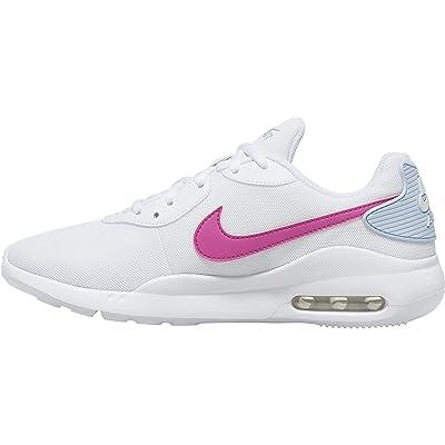 Nike Air Max Oketo (White/Fire Pink/Hydrogen Blue) Women