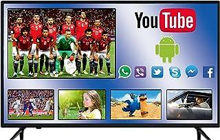 تليفزيون سمارت فل اتش دي 43 بوصة مع 2 ريموت كنترول وحامل حائط وجهاز ريسيفر من سيمفوني SY-LED 430 SM- M