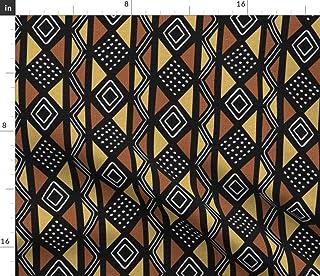 #52 Mud Cloth PRINT African  Fabric