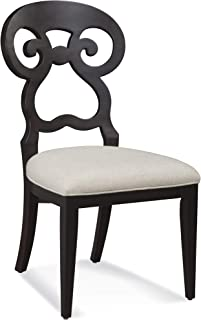 Bassett Mirror Company Dining Side Chair in Espresso Finish - Set of 2