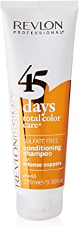 45 Days Conditioning Shampoo For Intense Coppers 275 Ml