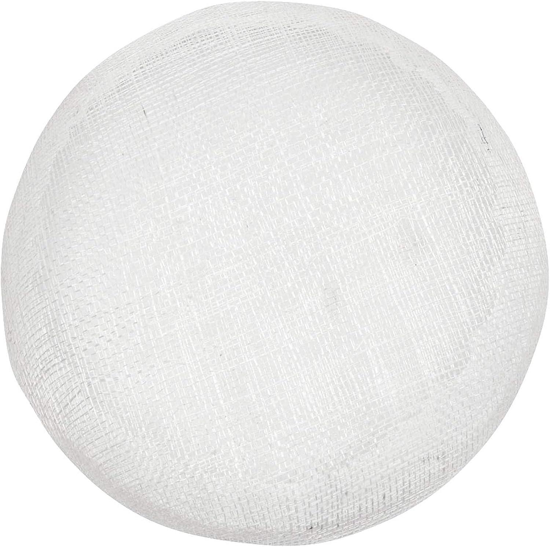 Humboldt Haberdashery Sinamay Button Beret Fascinator Hat Base for Millinery 6