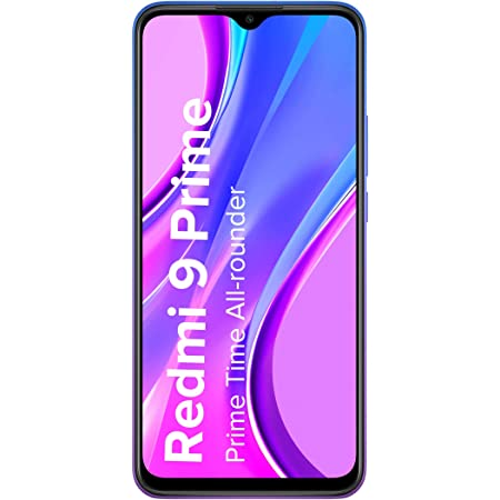 Redmi 9 Prime (Matte Black, 4GB RAM, 64GB Storage) - Full HD+ Display & AI Quad Camera