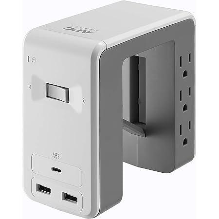 Black APC P3U3B 3-Outlet SurgeArrest Surge Protector with 3 USB Ports