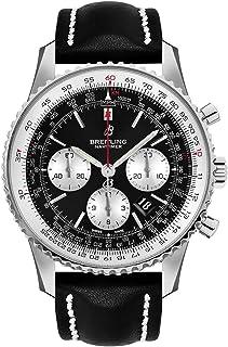 Breitling - Navitimer AB0127211B1X1 - Reloj cronógrafo para hombre (acero, correa de piel negra)
