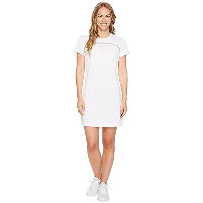 Nike Golf Dry Short Sleeve Dress (White/Wolf Grey/Flat Silver) Women