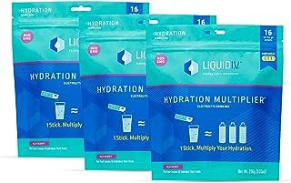 Liquid I.V. Hydration Multiplier - Acai Berry - Hydration Powder Packets | Electrolyte Supplement Drink Mix | Low Sugar | ...