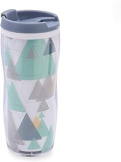 Quid Mint Vaso termo 0,45 L, Cuerpo doble pared, Bebidas frías y calientes, BPA free, PLASTICO