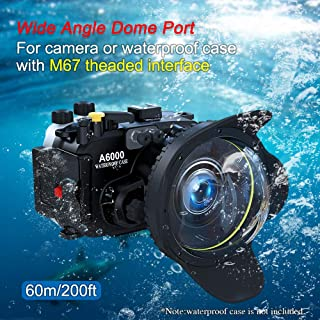 Sea frogs 防水 ダイビング デジタル一眼レフ 67mm 魚眼レンズ 広角レンズ Sea Frogs 防水ケース用 カメラレンズキット 防水性能40m 水中撮影用 国際防水等級IPX8 簡単装着