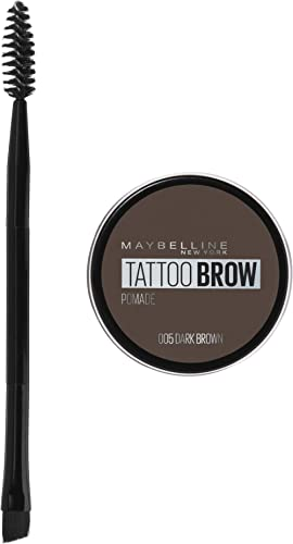 Maybelline Tattoo Brow Pomade Pot - Dark Brown