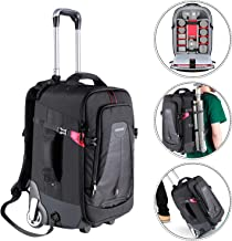 Neewer 2-in-1 Rolling Camera Backpack Trolley Case -...
