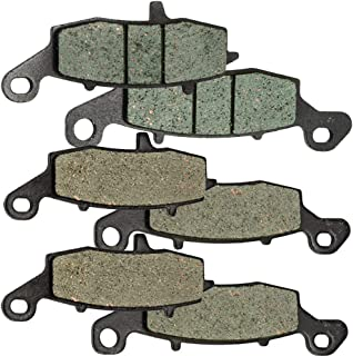 Foreverun Motor Front and Rear Brake Pads for Kawasaki VN 1600 Nomad 2005-2008