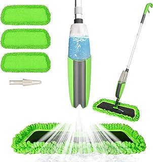 Balai lave sol avec vaporisateur,Aiglam Serpillière pour Nettoyage du Sol en Spray Balai de Pulvérisation Balai Haut de Ga...