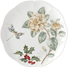 Lenox Butterfly Meadow Jasmine Accent Plate, 1.04 LB, Red