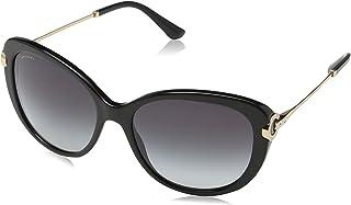 Bvlgari Cat Eye Sunglasses for Women, Grey, 0BV8194B 501/8G 57