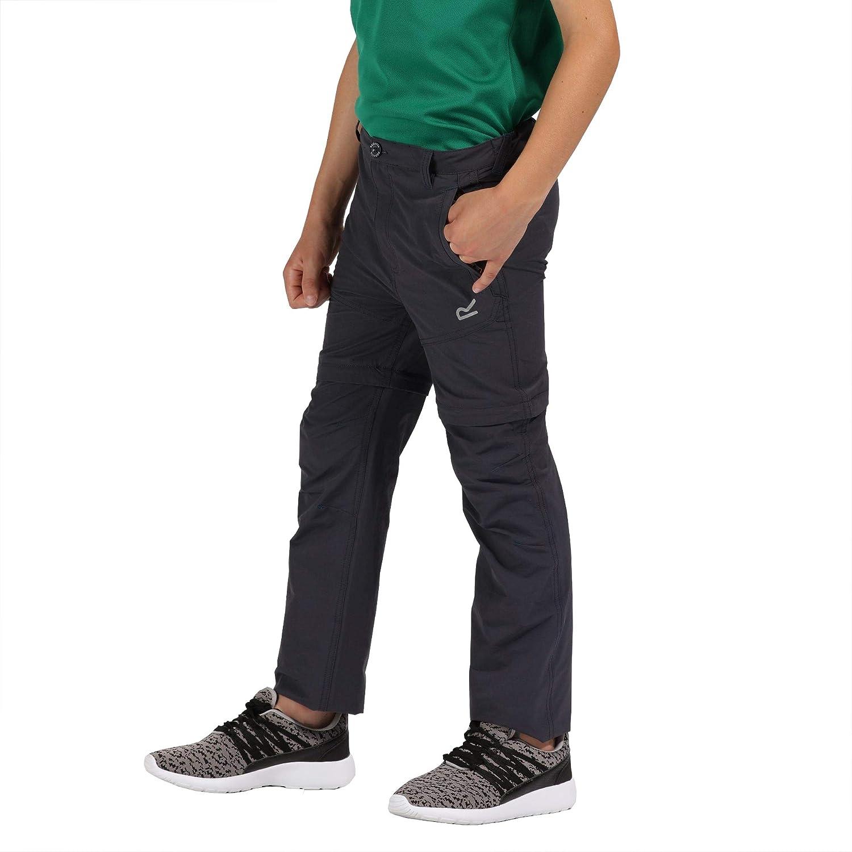 Regatta Unisex Kids Hikefell Z//O TRS Hiking Trousers