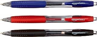 AmazonBasics Retractable Gel Pens - 50 Pack (Assorted Colors)