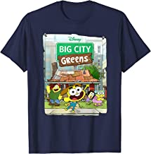 Disney Big City Greens Poster Cricket and Family T-Shirt