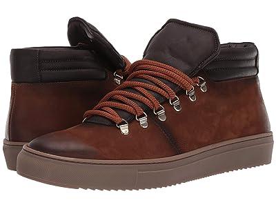 Massimo Matteo Hiking Sneaker (Tan/Cafe) Men
