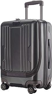 Roam.Cove スーツケース 前開き キャリーケース 機内持ち込み フロントオープン パソコン収納 軽量 静音 TSAロック ビジネス シンプル おしゃれ Sサイズ