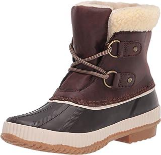 JBU by Jambu Women's Cleveland Waterproof Snow Boot, Brown, 6