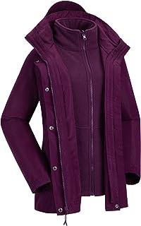 Violette Outdoorjacken für Damen Online Kaufen  