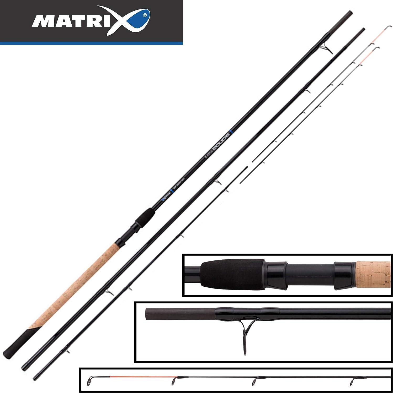 Fox Matrix Aquos Ultra D Feeder 4,20m 150g - Feederangelrute zum Feederangeln, Futterkorbrute, Grundrute, Friedfischrute Angelrute