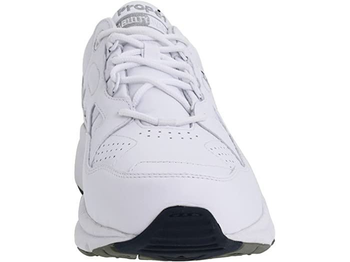 Propet Stability Walker Medicare/hcpcs Code = A5500 Diabetic Shoe White Leher Sneakers & Athletic Shoes