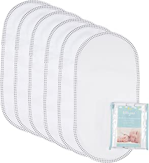 TILLYOU 6PK Larger Softer Changing Pad Liners Waterproof, 27