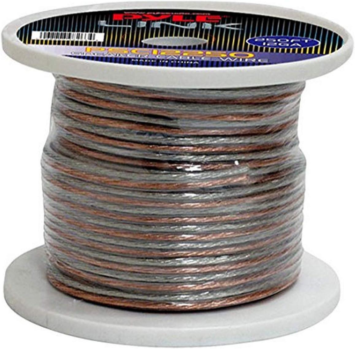 Pyle Ranking TOP6 PSC12250 12-Gauge 250 feet Spool Zip Wire of Speaker Choice
