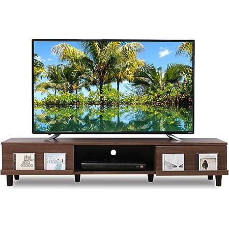 【32-65V型推奨】 アイリスオーヤマ テレビ台 ローボード ウォールナット 幅150×奥行約42×高さ約30cm BAB-150A
