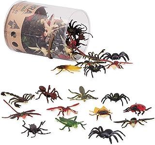 تيرا باي باتات - عالم الحشرات - العاب حشرات مصغرة متنوعة واغطية كعك للاطفال من سن 3 اعوام فما فوق (60 قطعة)