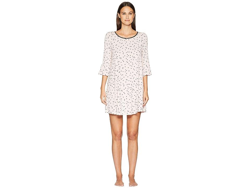 Kate Spade New York Scattered Dot Sleepshirt (Scattered Pink Dot) Women