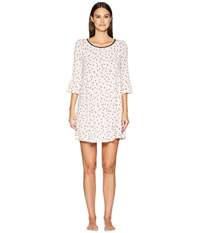 Kate Spade New York Scattered Dot Sleepshirt (Scattered Pink Dot) Women