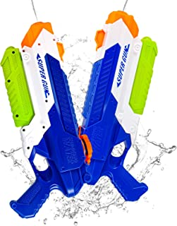 Squirt Water Guns for Boys & Girls - 900CC Super Water Guns for Kids Adults-Swimming Pool Toys Water Fighting with Powerfu...