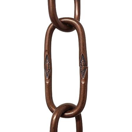 Antique Copper RCH Hardware CH-S57-33-AC Steel Chandelier Chain