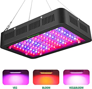 1000w LED Grow Light with Bloom and Veg Switch,iPlantop Triple-Chips LED Plant Growing Lamp Full Spectrum with Daisy Chained Design for Professional Greenhouse Hydroponic Indoor Plants