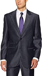 Steve Harvey Men's Solid Regular Fit Suit Separate Jacket
