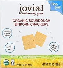 Jovial Crckr,Og2,Einkrn,Sea Sal 4.5 Oz (Pack Of 10)