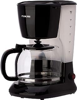 ماكينة تحضير القهوة سعة 10-12 كوب، اسود - NCM1210A من نيكاي