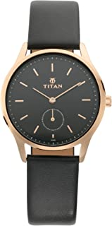Titan Ladies Workwear Slimline Analog Black Dial Women's Watch-95069WL01 / 95069WL01
